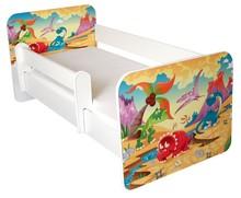 Łóżko dziecięce z barierką IGOR 32 - jura