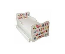 Łóżko dla dzieci WIKI 15 - ABC białe