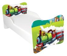 Łóżko dla dzieci WIKI 42 - lokomotywa
