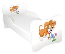 Łóżko dla dzieci WIKI 45 - piesek kwiatek