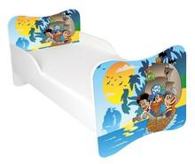 Łóżko dla dzieci WIKI 61 - pirat