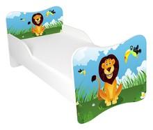 Łóżko dla dzieci WIKI 58 - lew