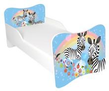 Łóżko dla dzieci WIKI 47 - zebra