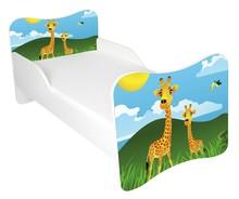 Łóżko dla dzieci WIKI 59 - żyrafy