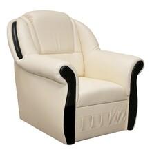 Fotel z głębokim siedziskiem LORD 1F - tkanina Soft 33