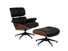 Fotel obrotowy z podnóżkiem LOUNGE CHAIR & OTTOMAN X040
