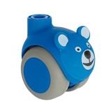 Kółko obrotowe Smiles bez hamulca, Niebieski Miś fi 50  Wysokiej jakości kółko obrotowe producenta TENTE, może stanowić doskonały wybór jako...