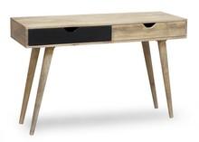 Konsola drewniana OSLO - czarny