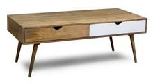 Stolik kawowy drewniany OSLO - biały