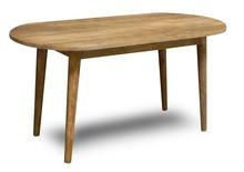 Stół drewniany z owalnym blatem OSLO