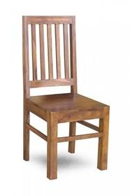 Krzesło drewniane VERONA - palisander miodowy