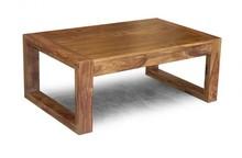 Stolik kawowy drewniany MILANO - palisander miodowy