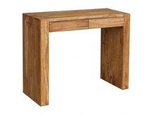 Konsola drewniana z dwiema szufladami VERONA - palisander teak