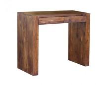 Konsola drewniana z dwiema szufladami VERONA - palisander miodowy