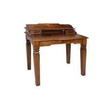 Sekretarzyk/toaletka drewniana - palisander miodowy