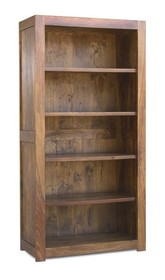 Biblioteczka drewniana MILANO - palisander miodowy