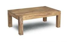 Stolik kawowy drewniany MODENA 120x70 - palisander teak