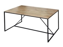 Stół LIVEROPOOL - akacja naturalna