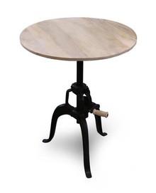 Okrągły stół z regulacją wysokości SOHO