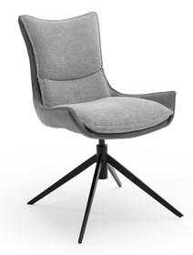 Krzesło obrotowe KITAMI - brązowoszary
