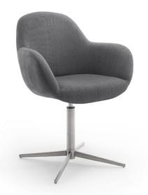 Krzesło obrotowe MELROSE 1E - antracyt
