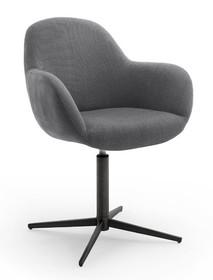 Krzesło obrotowe MELROSE 1S - antracyt