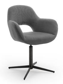 Krzesło obrotowe MELROSE 2S - antracyt
