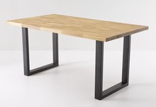 Stół na płozach LINCOLN - dąb dziki