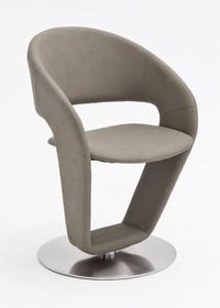 Krzesło obrotowe FIRONA - taupe