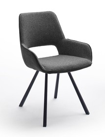 Krzesło PARANA - czarny