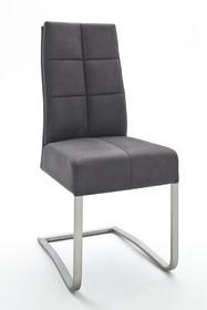 Krzesło na sprężynach SALVA 2 - antik szary