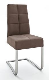 Krzesło na sprężynach SALVA 2 - antik piaskowy