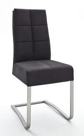 Krzesło na sprężynach SALVA 2 - antik czarny