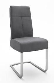 Krzesło na sprężynach TALENA - antracyt