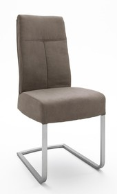 Krzesło na sprężynach TALENA - brąz antyczny