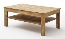 Stolik drewniany CASABLANCA 104x62 - dąb dziki