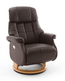 Fotel elektryczny CALGARY COMFORT XL - ciemny brąz