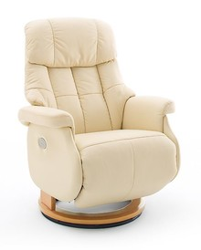 Fotel elektryczny CALGARY COMFORT XL - kremowy