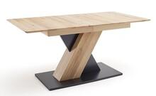 Stół rozkładany CUBA 1 - buk rdzeniowy/grafit