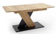 Stół rozkładany CUBA 1 - dąb dziki/grafit