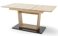 Stół rozkładany CUBA 2 - buk rdzeniowy/grafit