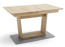 Stół rozkładany CUBA 2 - dąb dziki/aluminium mat