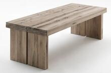 Stół drewniany DUBLIN - dąb lity bielony
