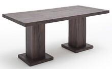Stół drewniany MANCHESTER - dąb lity postarzany