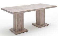 Stół drewniany MANCHESTER - dąb lity bielony