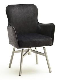 Krzesło obrotowe SHEFFIELD B - różne kolory/stal