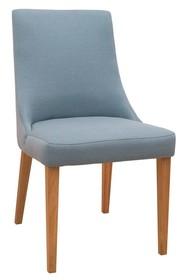 Krzesło tapicerowane KARINA - podstawa dębowa - PRESTIGELINE