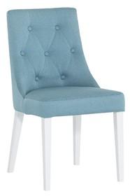 Krzesło tapicerowane MARCEL - podstawa dębowa - PRESTIGELINE