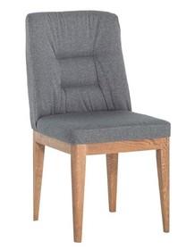 Krzesło tapicerowane ARCO - podstawa dębowa - PRESTIGELINE