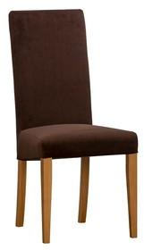 Krzesło tapicerowane PAVO - podstawa dębowa - PRESTIGELINE